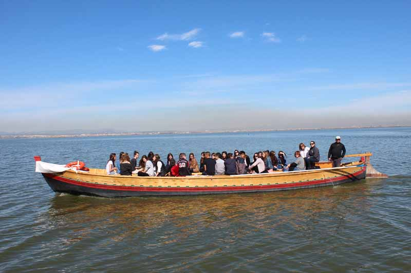 paseo barca